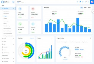 Sofbox – Premium Responsive Angular 8 Laravel Admin HTML5 Template