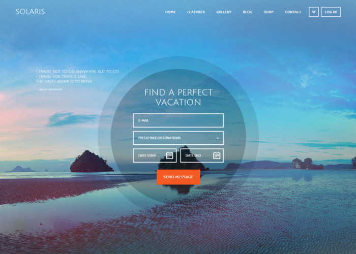 Solaris – Premium Responsive Travel Agency WordPress Theme
