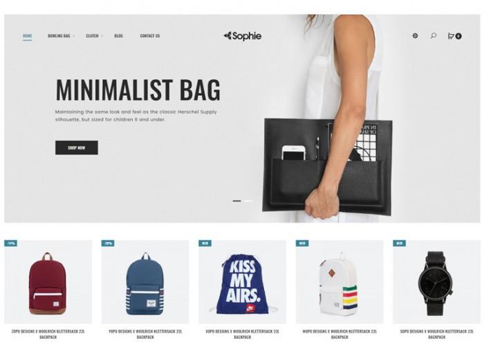 Sophie – Premium Responsive Bags Opencart Theme