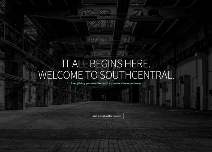 SouthCentral – Premium Responsive One Page Parallax WordPress Theme