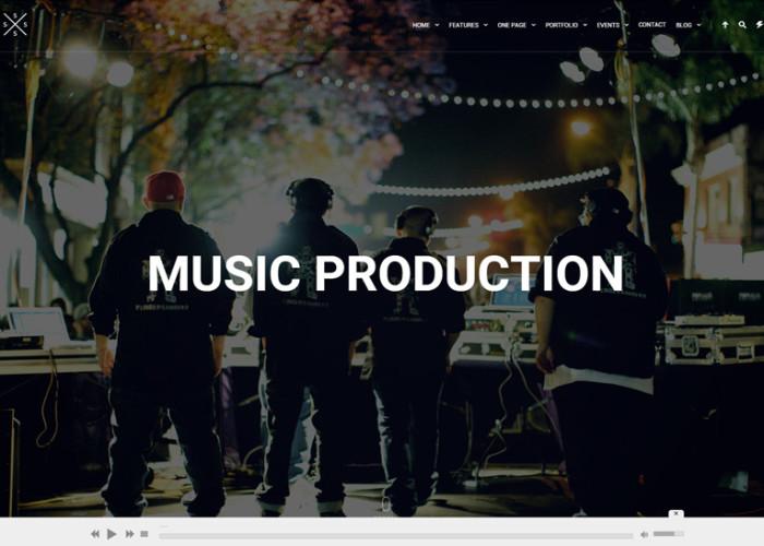SPECTRA – Premium Responsive Music WordPress Theme