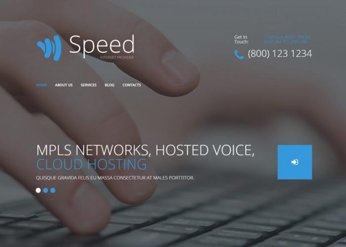 Speed – Premium Responsive Hosting WordPress Theme