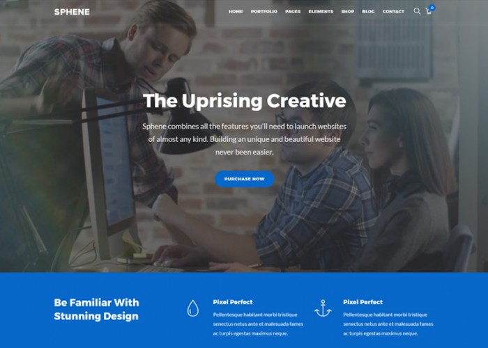 Sphene – Premium Responsive All In One WordPress Theme