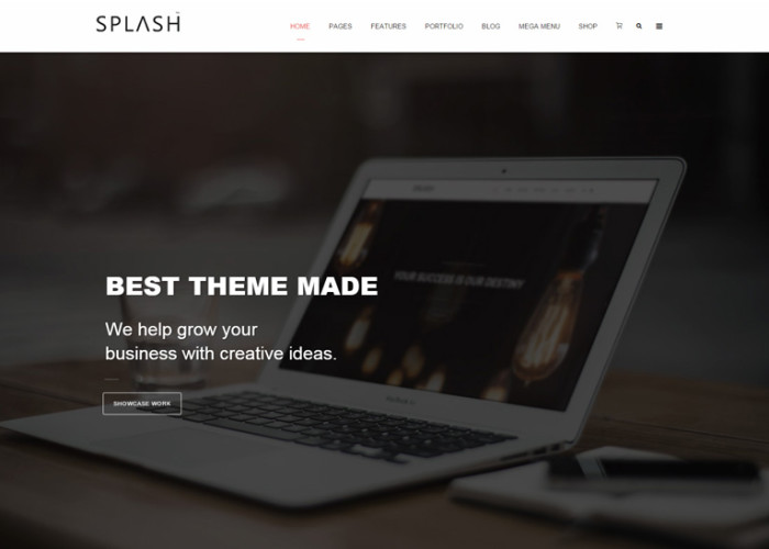 Splash – Premium Responsive Multipurpose Joomla Template