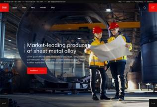 Stal – Premium Responsive Industry WordPress Theme