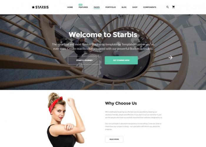 Starbis – Premium Responsive Multipurpose HTML5 Template For Business