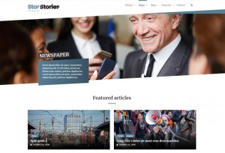 StarStories – Premium Responsive Magazine & Blog WordPress Theme