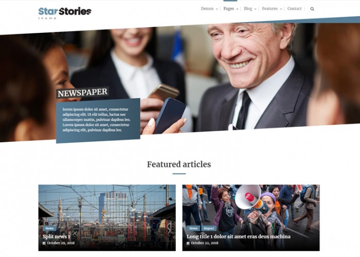 StarStories – Premium Responsive Magazine & Blog WordPress Theme