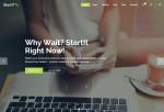 Startit – Premium Responisve Startup Business WordPress Theme