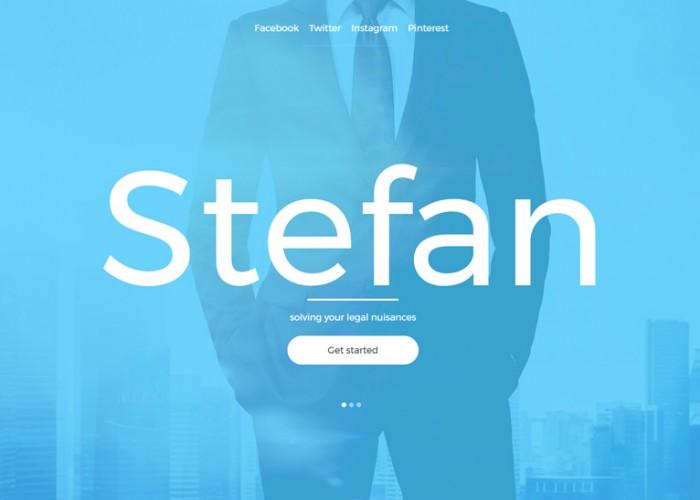 Stefan – Premium Responsive Law Firm HTML5 Template