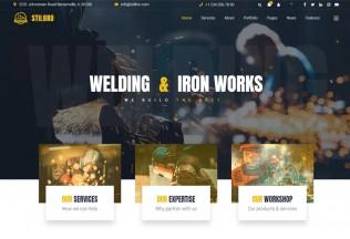 Stilbro – Premium Responsive Steelworks Company HTML5 Template