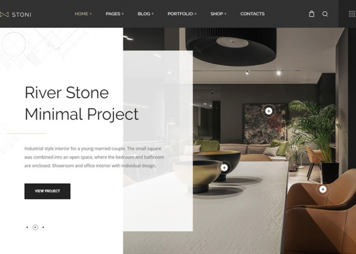 Stoni – Premium Responsive Architecture Agency WordPress Theme