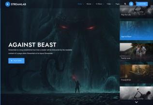 Streamlab – Premium Responsive Video Streaming WordPress Theme