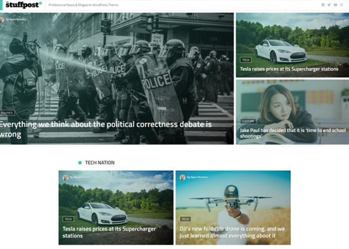 StuffPost – Premium Responsive News & Magazine WordPress Theme