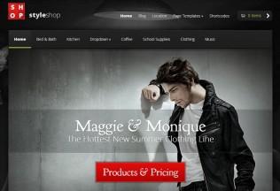 StyleShop – WordPress Premium Responsive Theme