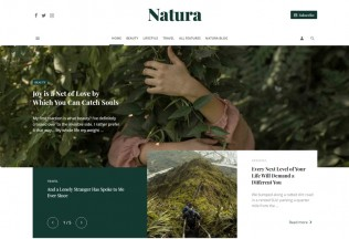 Suga – Premium Responsive Magazine and Blog WordPress Theme