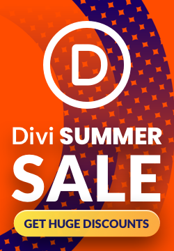 Divi Summer Sale