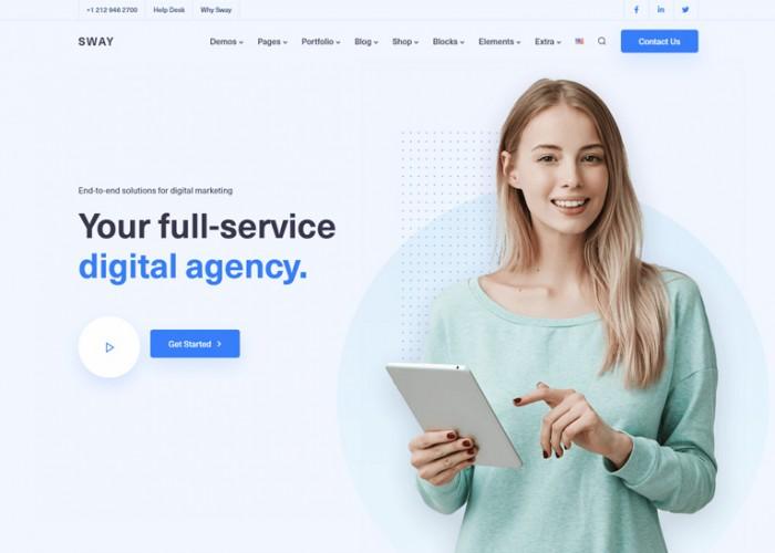 Sway – Premium Responsive MultiPurpose WordPress Theme