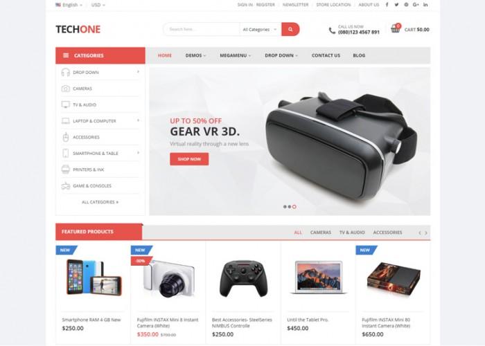 Techone – Premium Responsive Magento 2 Theme