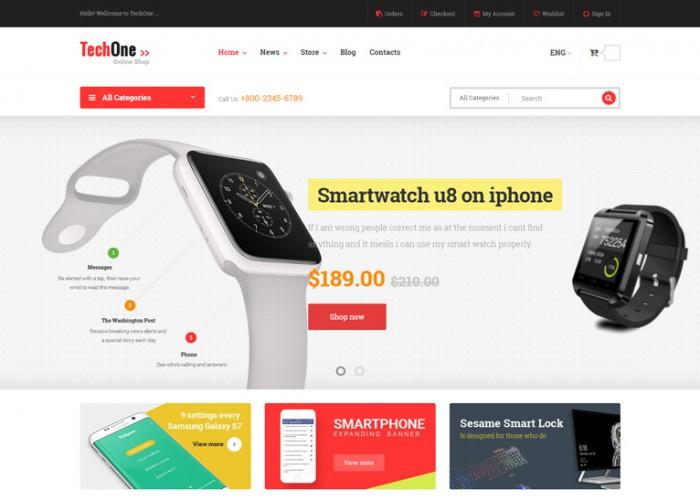 Techone – Premium Responsive Magento 2 Template