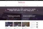 Techwise – Premium Responsive Magazine w/ Comparisons WordPress Theme