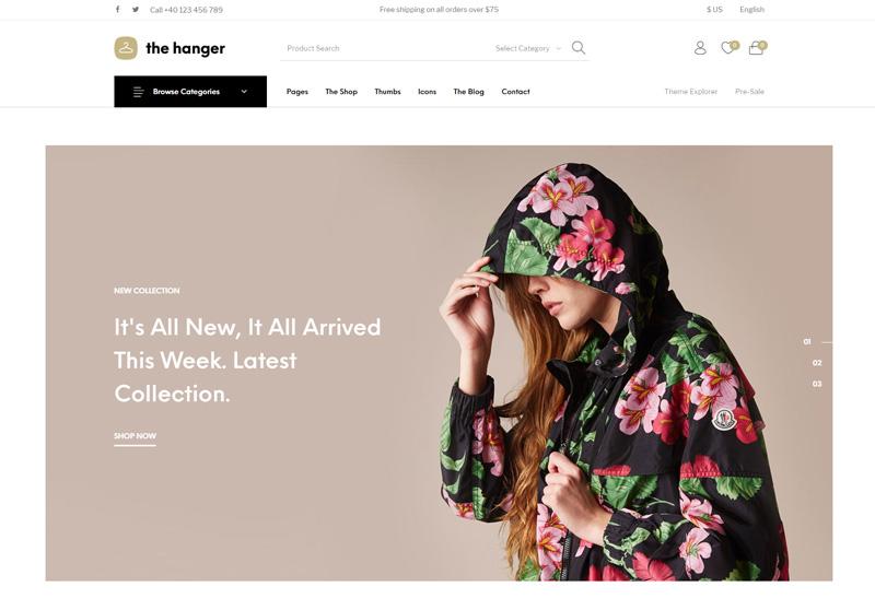 The Hanger - Premium Responsive WooCommerce WordPress Theme