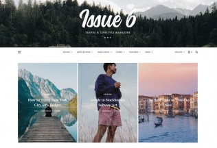The Issue – Premium Responsive Magazine WordPress Theme