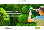 The Landshaper – Premium Responsive Gardening, Lawn & Landscaping WordPress Theme