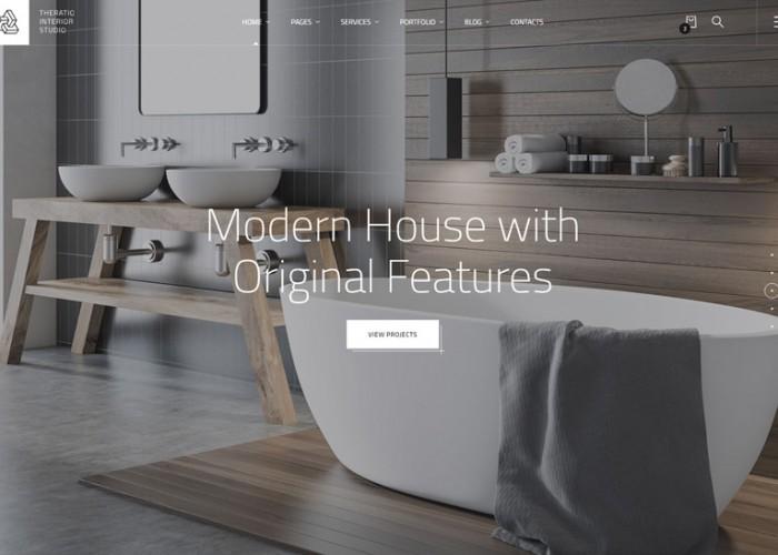 Theratio – Premium Responsive Interior Design HTML5 Template