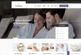 Thermen – Premium Responsive Spa Wellness Center WordPress Theme
