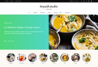 TinySalt – Premium Responsive Personal Food Blog WordPress Theme