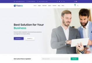 Tizara – Premium Responsive Business & Corporate HTML5 Template