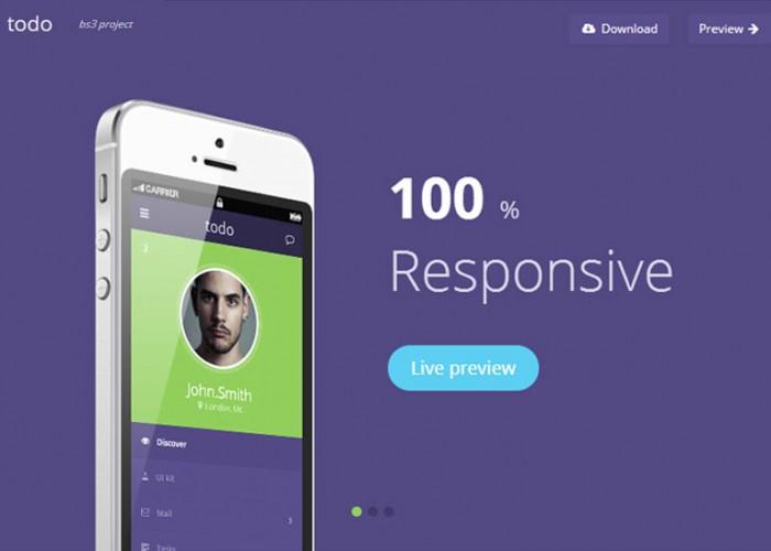 todo – Premium Responsive Flat HTML5 Template