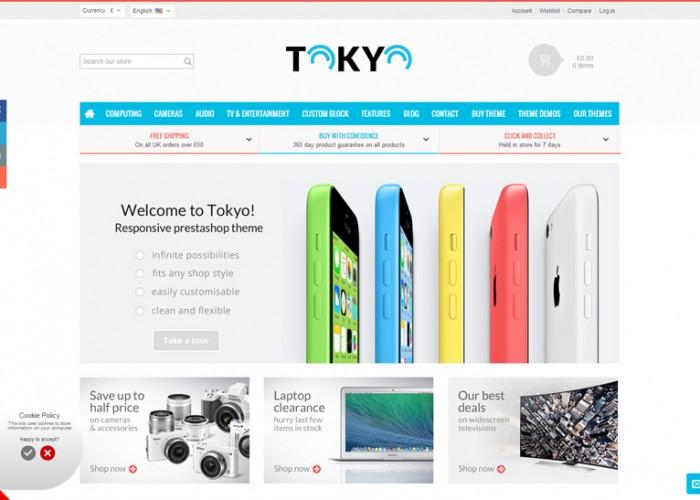 Tokyo – Premium Responsive Prestashop Theme