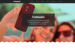Tornado – Premium One Page Parallax Muse Template