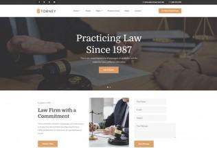 Torney – Premium Responsive Lawyer & Attorney WordPress Theme