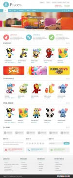 Best Responsive Toys Store Prestashop Themes in 2014