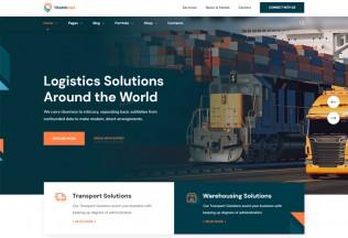 Transmax – Premium Responsive Delivery Company WordPress Theme