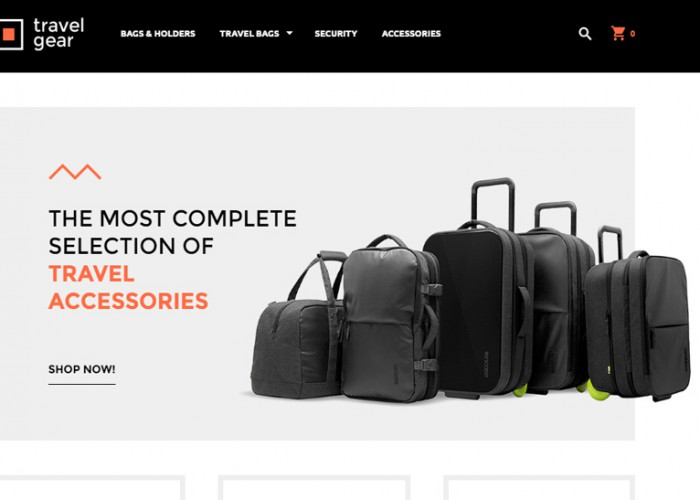 Travel Gear – Premium Responsive Magento Theme
