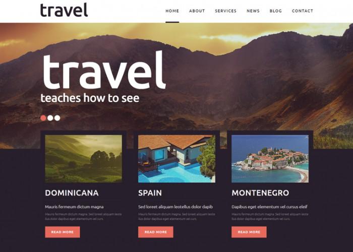 Travel Spot – Premium Responsive Joomla Template