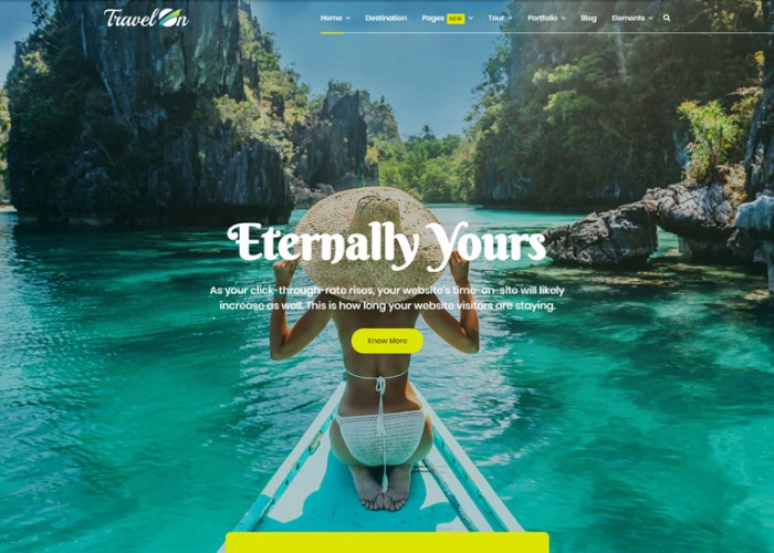 TravelOn – Premium Responsive Travel Agency Joomla Template