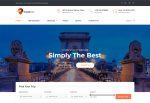 TravelTrek – Premium Responsive Travel Agency HTML5 Template