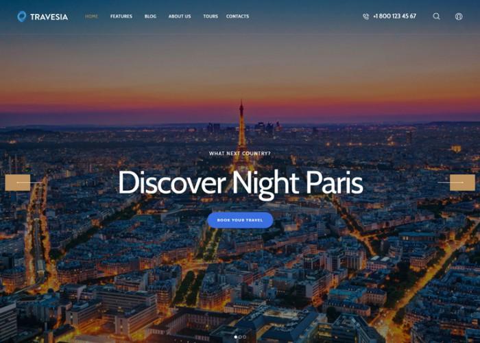 Travesia – Premium Responsive Travel Agency WordPress Theme