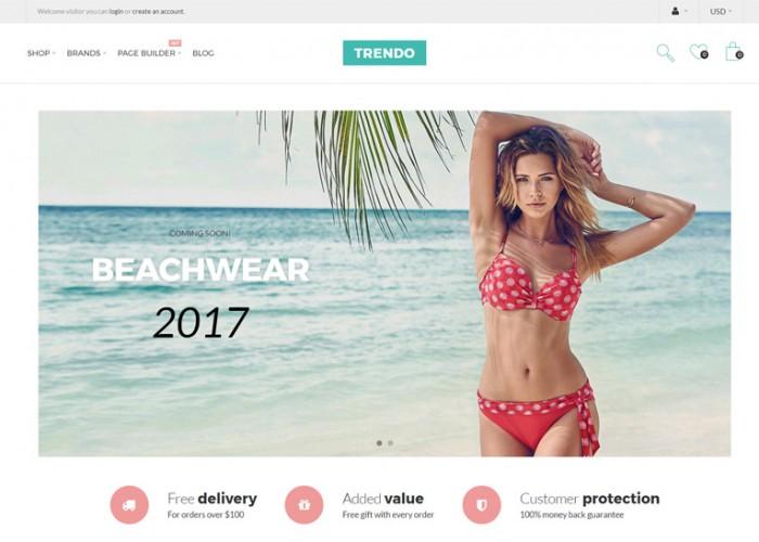 Trendo – Premium Responsive Minimalistic Fashion Store OpenCart Theme