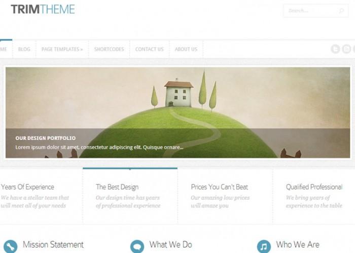 Trim – WordPress Premium Responsive Theme