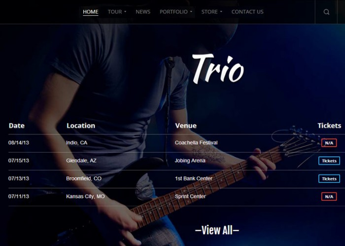 Trio – Premium Responsive WordPress Theme