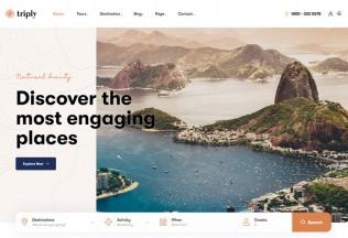 Triply – Premium Responsive Tour Booking WordPress Theme