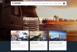 Trucking – Premium Responsive Transportation and Logistics WordPress Theme