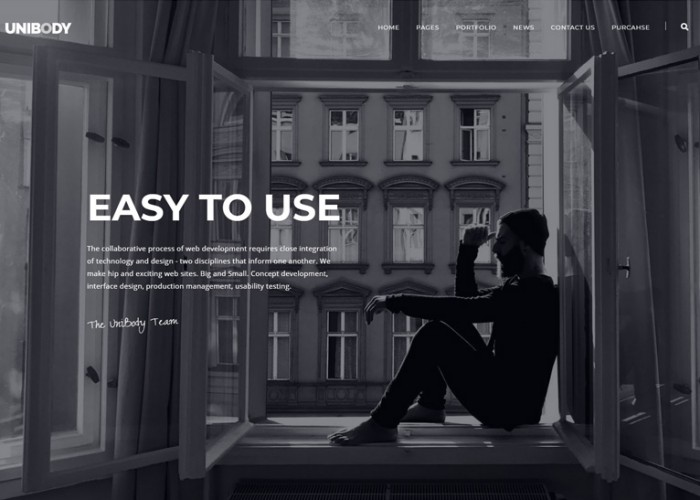 UniBody – Premium Responsive Elegant Business WordPress Theme