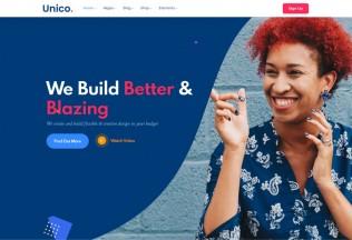 Unico – Premium Responsive Multipurpose HTML5 Template